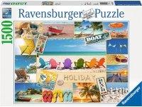 Puzzle 1500 Ravensburger 163076 Szczęśliwe Wakacje