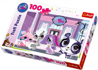 Puzzle 100 Trefl T-16198 Pet Shop - Na Ulicy