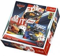 Puzzle 3w1 Trefl T-34819 Auta po wyścigu