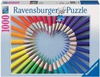 Puzzle 1000 Ravensburger 193905 Kolorowe Serce