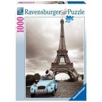 Puzzle 1000 Ravensburger 192434 Romantyczny Paryż