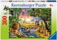 Puzzle 300 Ravensburger 130733 Zwierzęta przy Wodopoju