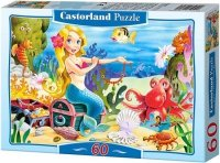 Puzzle 60 Castorland B-06588 Mała Syrenka - Little Mermaid