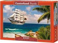 Puzzle 1000 Castorland C-103430 Żaglowiec - Tropiki