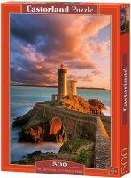 Puzzle 500 Castorland B-52530 Latarnia Morska - The Lighthouse Petit Minou - Francja