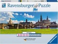 Puzzle 1000 Ravensburger 196197 Dresden - Panorama