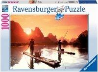 Puzzle 1000 Ravensburger 190850 Poranne Wędkarstwo