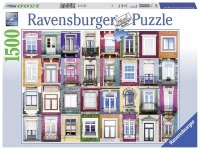 Puzzle 1500 Ravensburger 162178 Okna w Porto