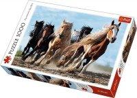 Puzzle 1000 Trefl 10446 Konie w Galopie