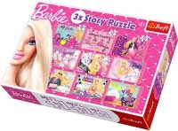 Puzzle 9w1 Trefl 90309 Barbie - Historie 30, 40, 60