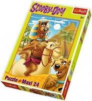 Puzzle 24 Maxi Trefl 14233 Scooby Doo w Egipcie