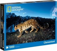 Puzzle 1000 Clementoni 39376 Lampart - National Geographic