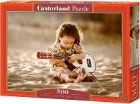 Puzzle 500 Castorland B-52288 Mała Gitarzystka
