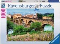 Puzzle 1000 Ravensburger 194254 Puente la Reina - Hiszpania