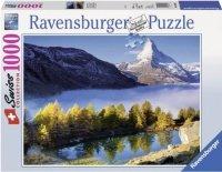 Puzzle 1000 Ravensburger 193509 Jezioro w Górach