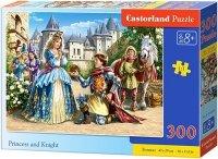 Puzzle 300 Castorland B-030040 Księżniczka i Rycerz