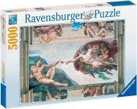 Puzzle 5000 Ravensburger 174089 Michał Anioł - Stworzenie