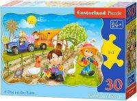Puzzle 30 Castorland B-03563 Dzień na Farmie