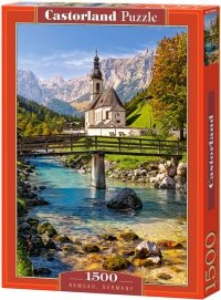 Puzzle 1500 Castorland C-151615 Ramsau - Bawaria