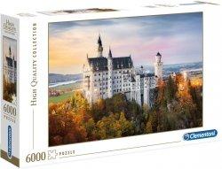 Puzzle 6000 Clementoni 36522 Zamek Neuschwanstein