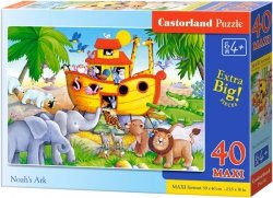 Puzzle 40 Maxi Castorland B-040209 Arka Noego
