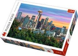 Puzzle 1500 Trefl 26135 Space Needle - Seattle - USA