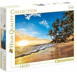 Puzzle 1500 Clementoni 31681 Plaża Tropikalna - Tropical Sunrise