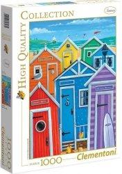 Puzzle 1000 Clementoni 39327 Domki na Plaży
