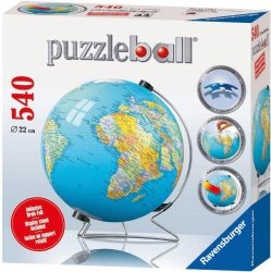 Puzzle 540 Ravensburger 124275 Kuliste - Kula Ziemska 3D
