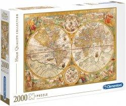 Puzzle 2000 Clementoni 32557 Antyczna Mapa Świata