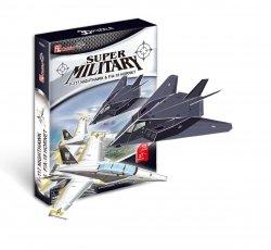 Puzzle 3D CubicFun 13/27 F-117 Nightawk F/A - 18 HO  - P629h