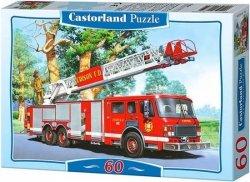 Puzzle 60 Castorland B-06595 Straż Pożarna - Fire Engine
