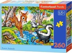 Puzzle 260 Castorland B-27446 Jelonek i Przyjaciele