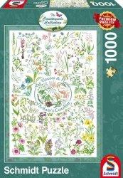 Puzzle 1000 Schmidt 59568 Countryside Art - Kwiaty i Rośliny