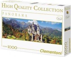 Puzzle 1000 Clementoni 39283 Zamek Neuschwanstein - Panorama