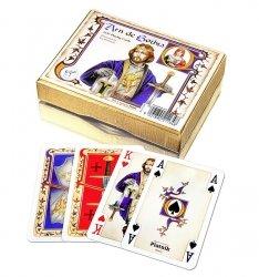 Karty do Gry Lux Piatnik 2 Talie 2113 Arn de Gothia