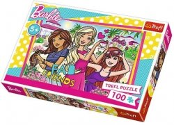 Puzzle 100 Trefl T-16310 Wakacje Barbie