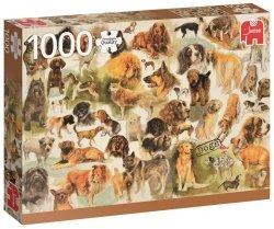 Puzzle 1000 Jumbo 18596 PC - Psy