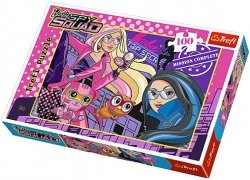 Puzzle 100 Trefl T-16292 Barbie - Drużyna Szpiegowska