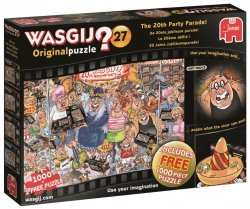 Puzzle 2x1000 Jumbo 19152 Impreza z Okazji 20-tej Rocznicy Wasgij 27