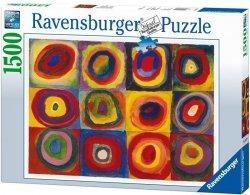Puzzle 1500 Ravensburger 163779 - Kandinsky - Farbstudie