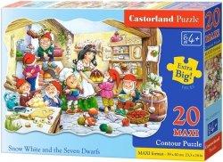 Puzzle 20 Maxi Castorland C-02207 Królewna Śnieżka