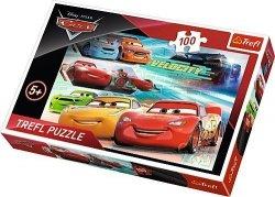 Puzzle 100 Trefl T-16337 Auta - Cars 3 - Bohaterowie Wyścigu