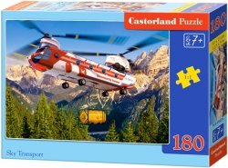 Puzzle 180 Castorland B-018239 Helikopter Transportowy