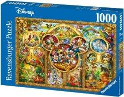 Puzzle 1000 Ravensburger 152667 Disney - Motywy
