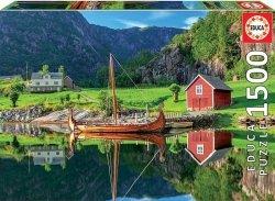 Puzzle 1500 Educa 18006 Statek Wikingów