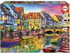 Puzzle 4000 Educa 17134 Kanał Colmar - Francja