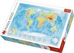 Puzzle 1000 Trefl 10463 Mapa Fizyczna Świata