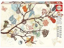 Puzzle 500 Educa 17646 Kompozycja Kwiatowa