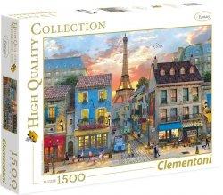 Puzzle 1500 Clementoni 31679 Ulice w Paryżu